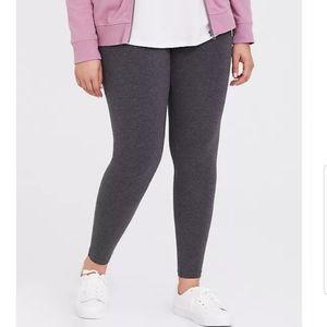 Torrid Leggings Heather Gray sz 00 brand new